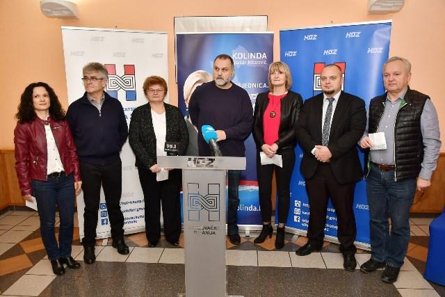 Ogulin.eu Predstavnici HDZ-a Karlovačke županije pozvali birače da u drugom krugu podrže Kolindu Grabar-Kitarović