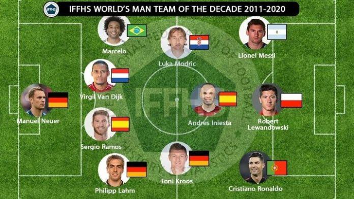 Ogulin.eu Luka Modrić u najboljoj momčadi desetljeća