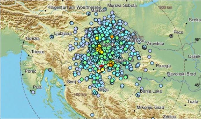 Ogulin.eu Novi snažan potres zatresao središnju Hrvatsku