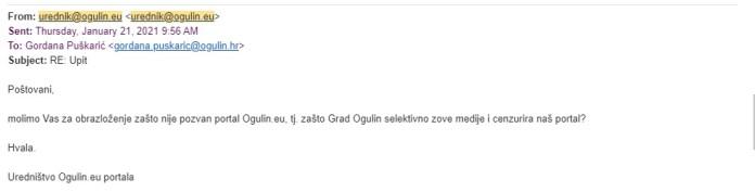 Ogulin.eu Svjetski dan slobode medija - koje u Ogulinu nema?
