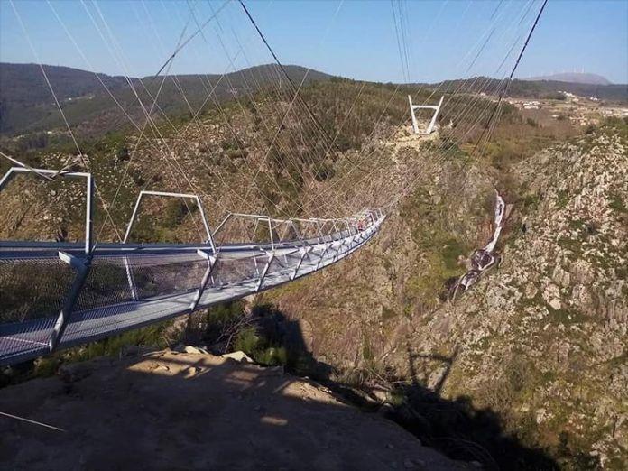 Ogulin.eu Otvoren je najdulji viseći most na svijetu, prizori su nestvarni
