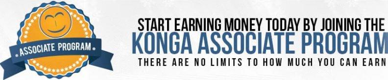konga Associate banner