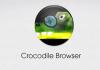 Crocodile Browser Logo