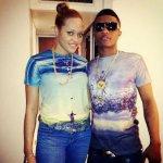 Tania with Wizkid