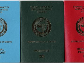 Nigerian Diplomatic Passport