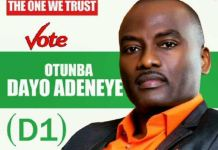 Dayo Adeneye, Ogun State Commissioner for Infomation