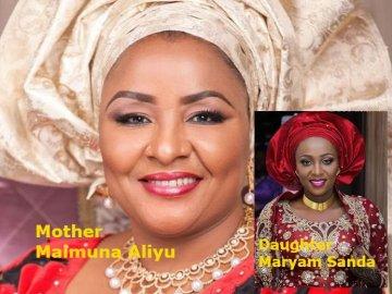 Maimuna Aliyu & Daughter, Maryam Sanda