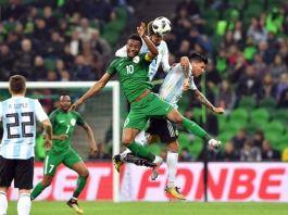 Nigeria versus Argentina march