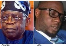 Tinubu and late son Jide