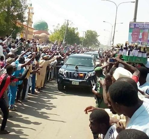 buhari visit kano