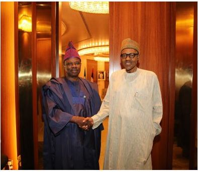 Buhari congratulates Ogun Governor, Ibikunle Amosun at 60