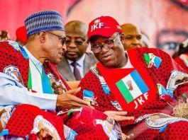 Buhari and Kayode Fayemi