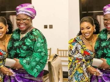 Iyabo Ojo & mum
