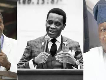 Pastor Adeboye, Late son Pastor Dare Adeboye & Yoruba Nation agitator, Sunday Igboho