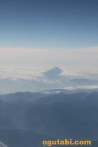 富士山と立山連峰