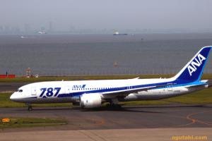 羽田→富山 ANA B787-8