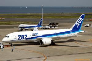 羽田→伊丹 ANA B787-8
