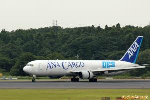 ANA B767-300 (香港→成田)