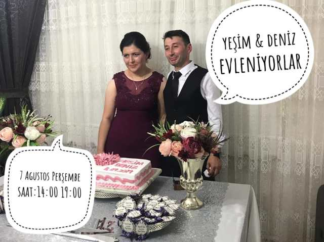 Yeşim ve Deniz Evleniyorlar