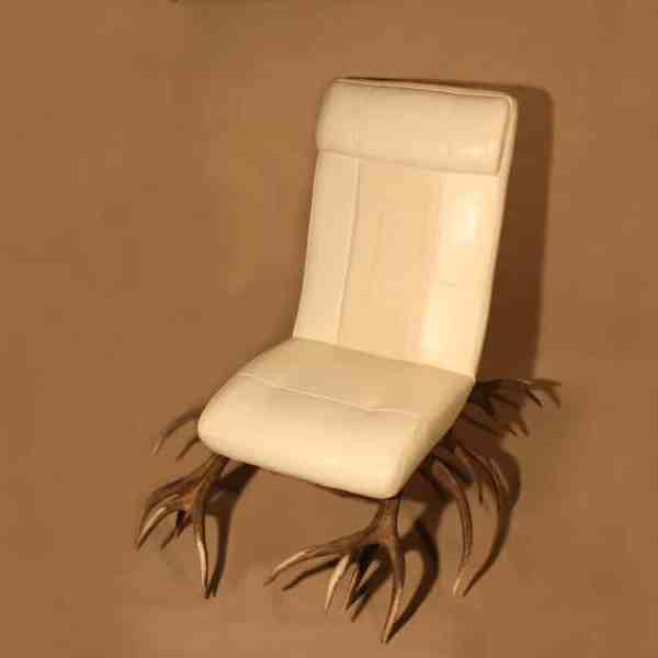 Geweih Sessel, Geweih Stuhl, Geweihmöbel, Geweih Möbel, geweih Einrichtung, OH MY DEER, Johannes Forkl, Chalet Einrichtung
