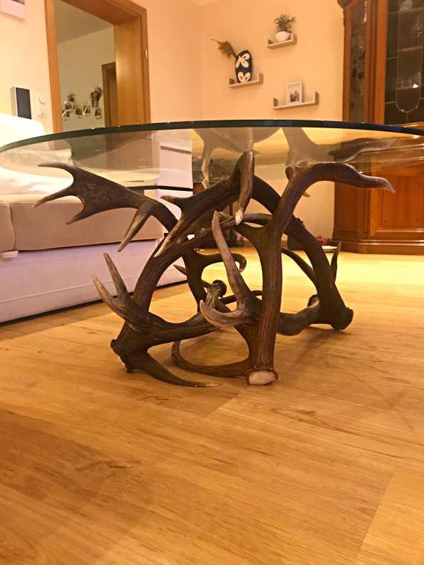 Wohnzimmer Couchtisch rund