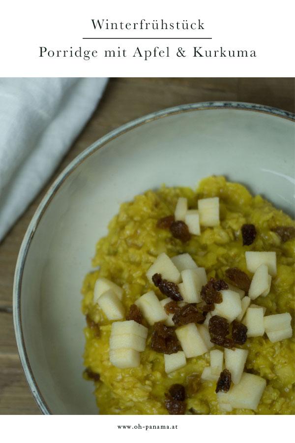 porridge mit kurkuma