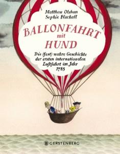 Die besten Bilderbücher des Jahres. Ballonfahrt mit Hund.