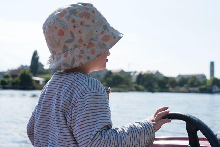 Wochenende in Bildern: Bootsfahren an der Alten Donau