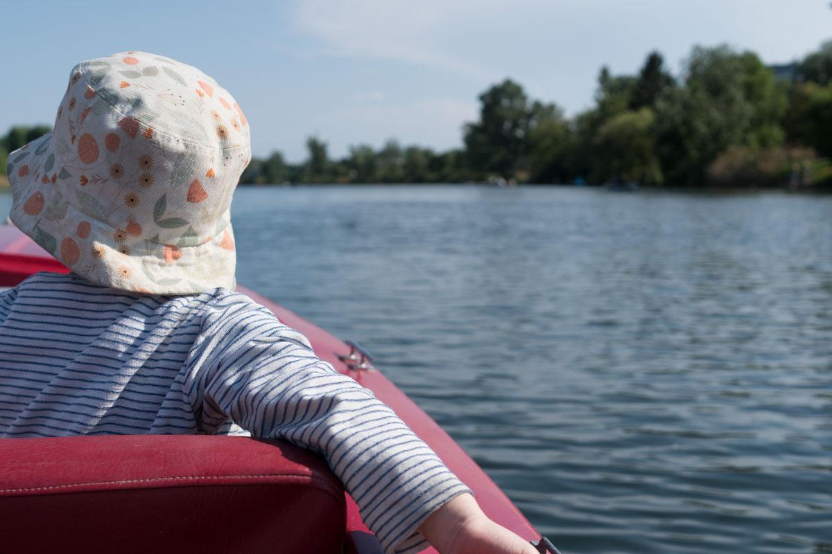 Wochenende in Bildern: Bootfahren Alte Donau