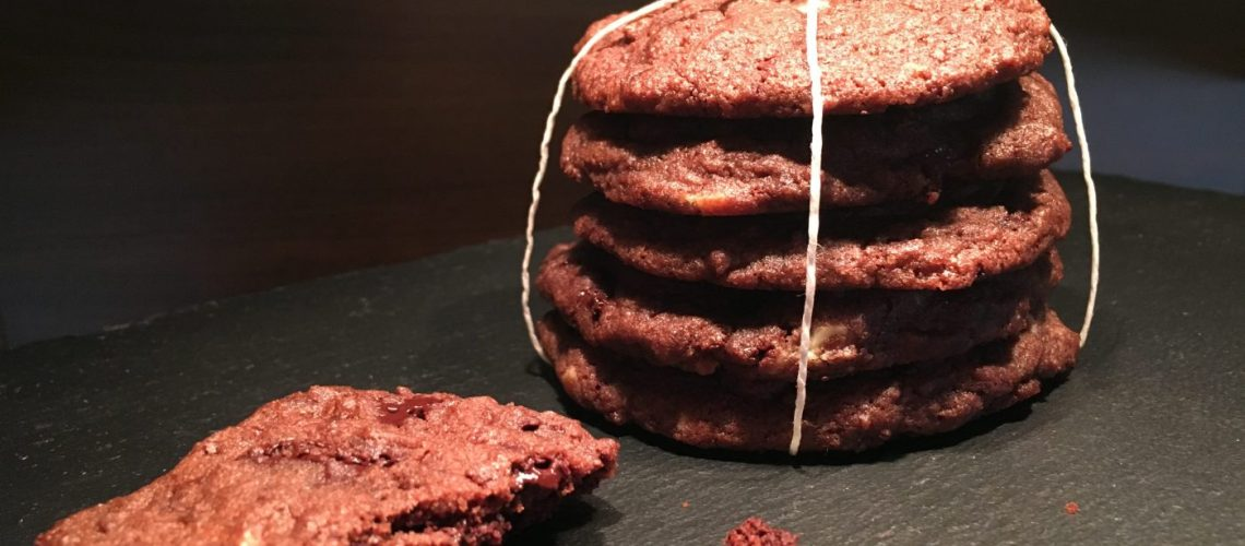 Double-Chocolate-Cookies