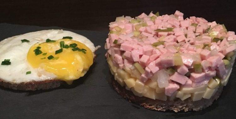 Käse-Wurst-Salat