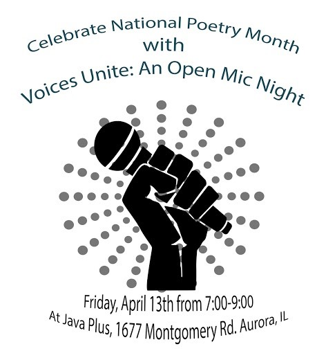 Voices Unite Open Mic Night Flyer