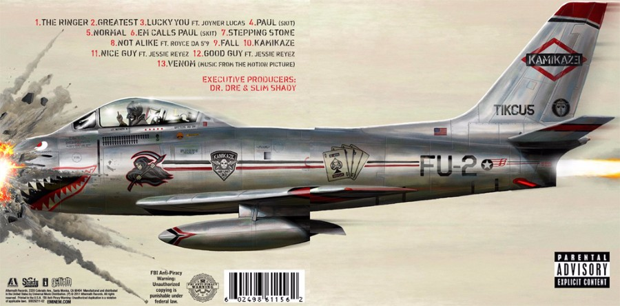 Review: Eminem's 'Kamikaze'