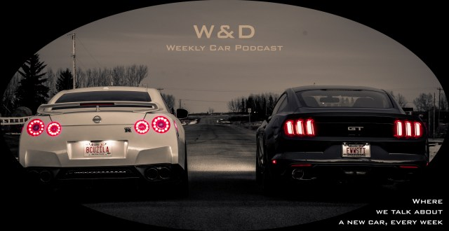 W&D Logo, two sports cars