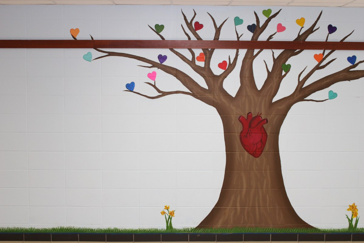 Ms. Larsen's tree of life, and all it memorializes