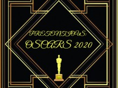 Pretentious logo with oscars award