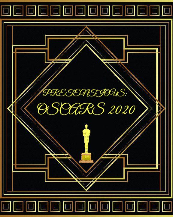 Pretentious logo with oscars award