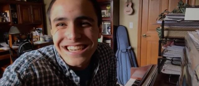 Ryan Kazda smiling