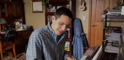 Ryan Kazda singing