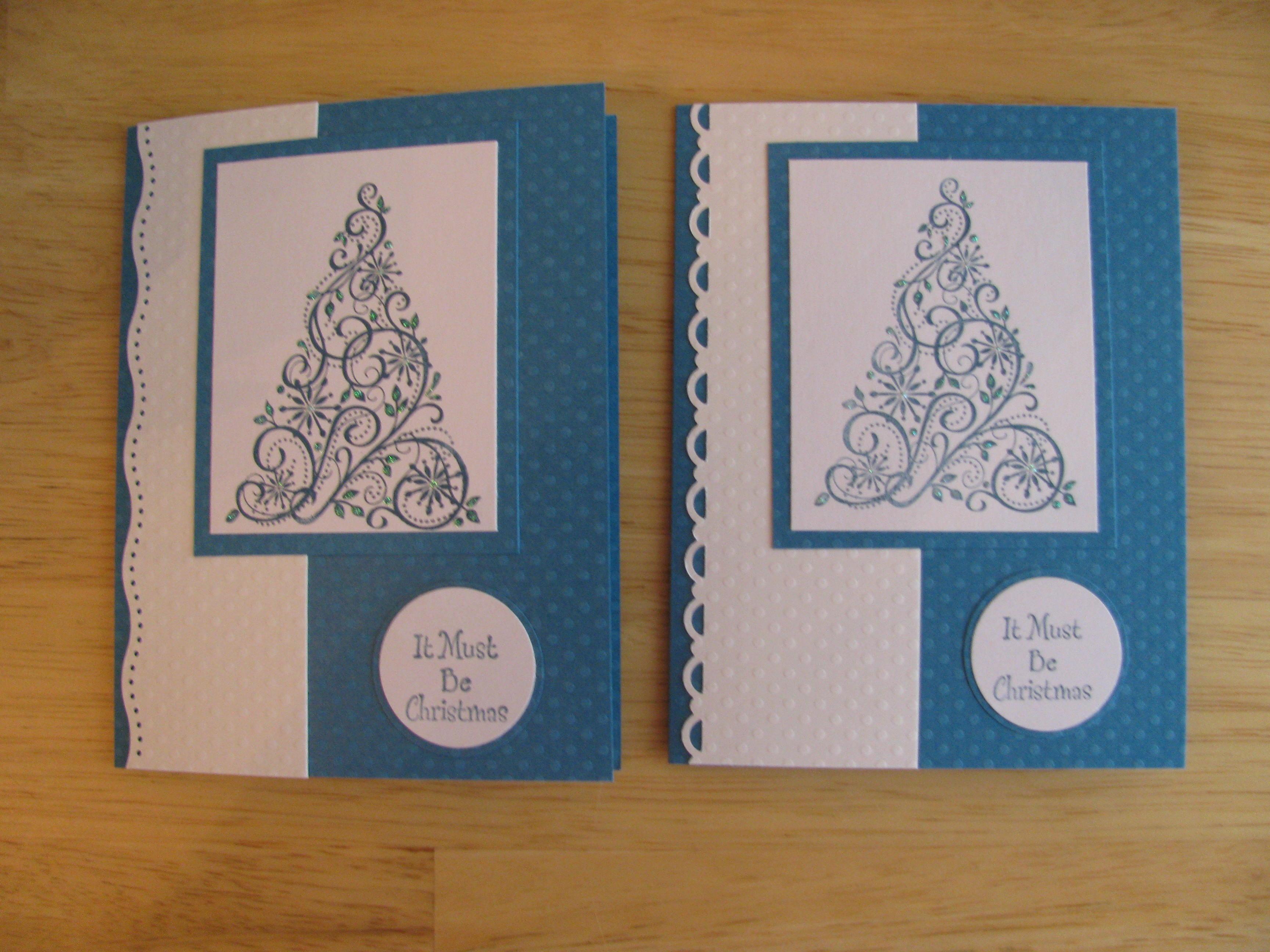Handmade Christmas Cards Karens Cards Amp Ideas