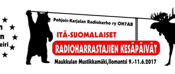 Itä-Suomen Radioharrastajien Kesäpäivät 2017 ajo-ohje ja ohjelma