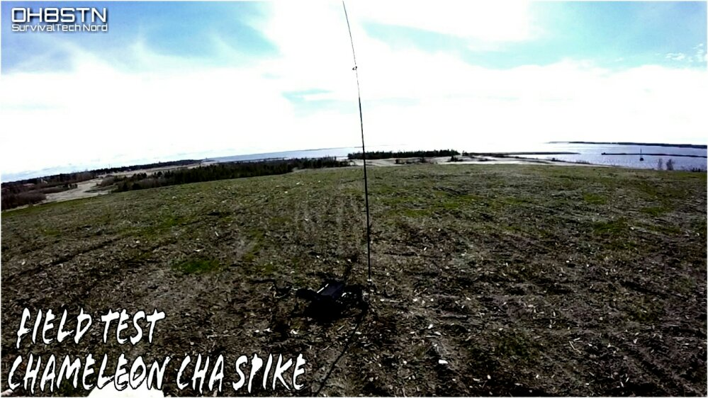 Field Testing Chameleon CHA SPIKE on MPAS & First QSO