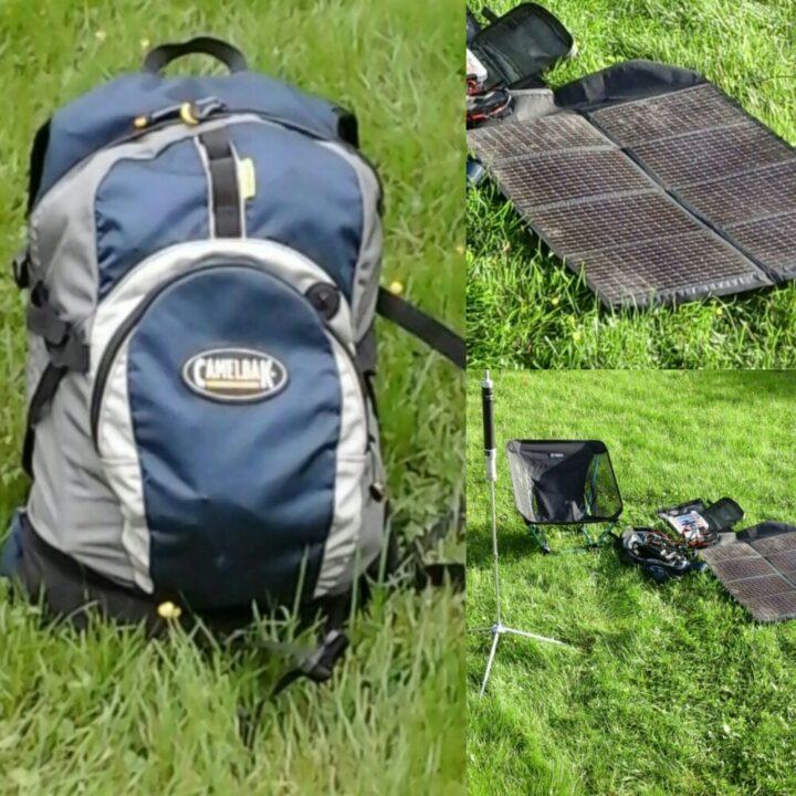 Man Portable Solar Powered GoKit for Ham Radio