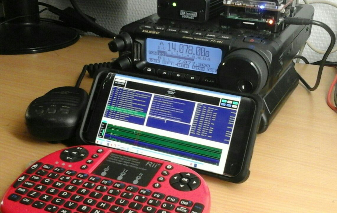 Raspberry Pi Digital HF Station
