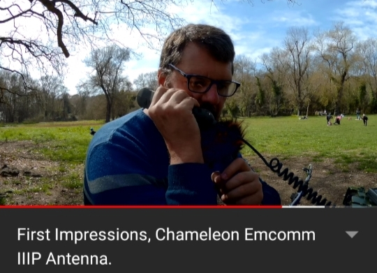 Chameleon Emcomm 3 Portable | First Impressions