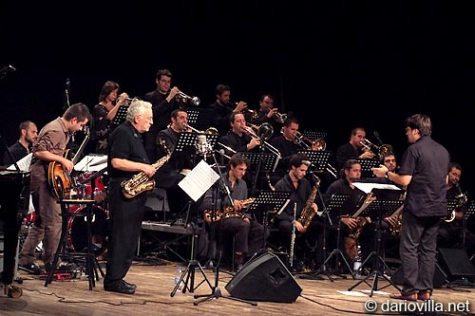 Conducting Lee Konitz & Big Band, Milano