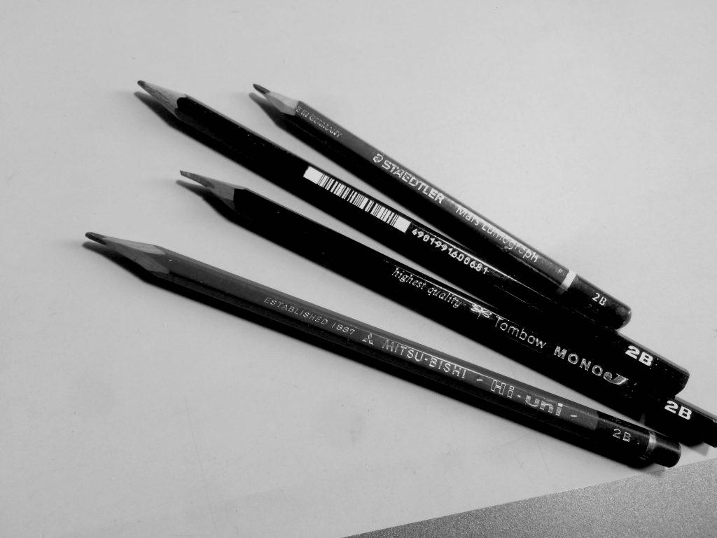 鉛筆はどれを選べば