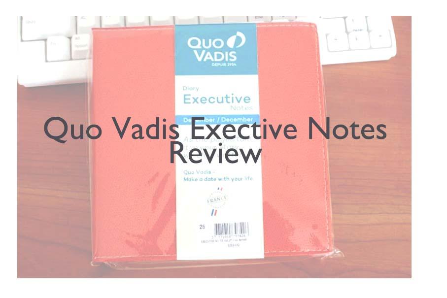 今年の手帳もクオバディスに決定