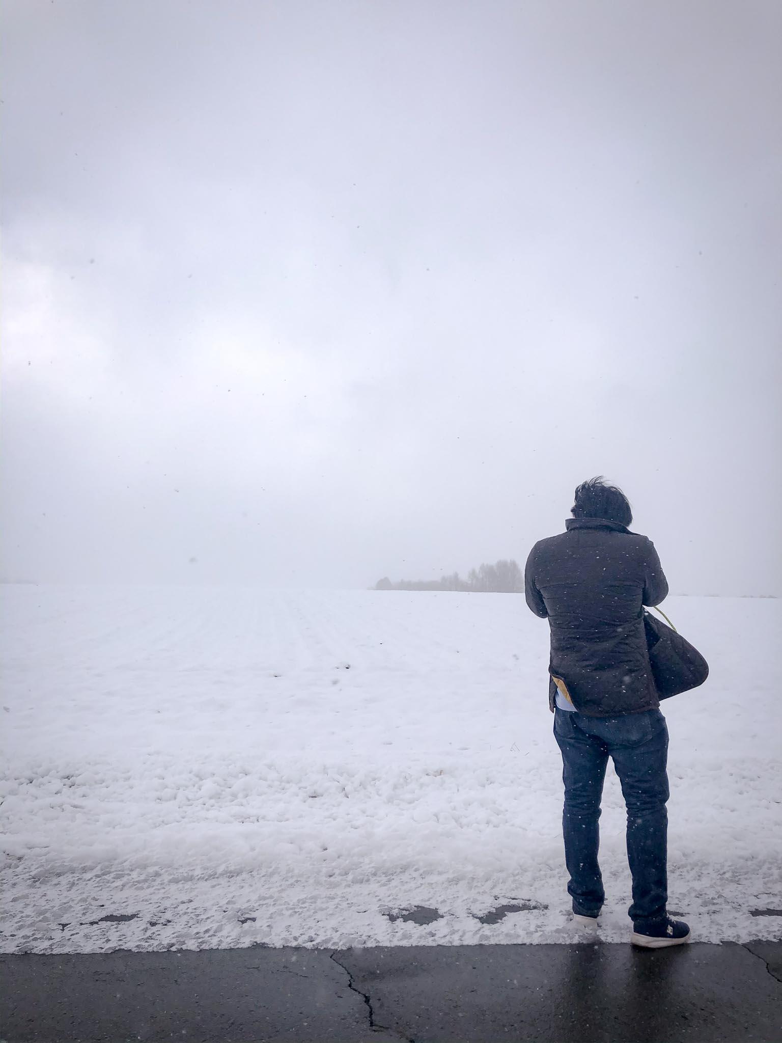 Read more about the article フォトログ:雪の風景の恐ろしさから学ぶ安心感