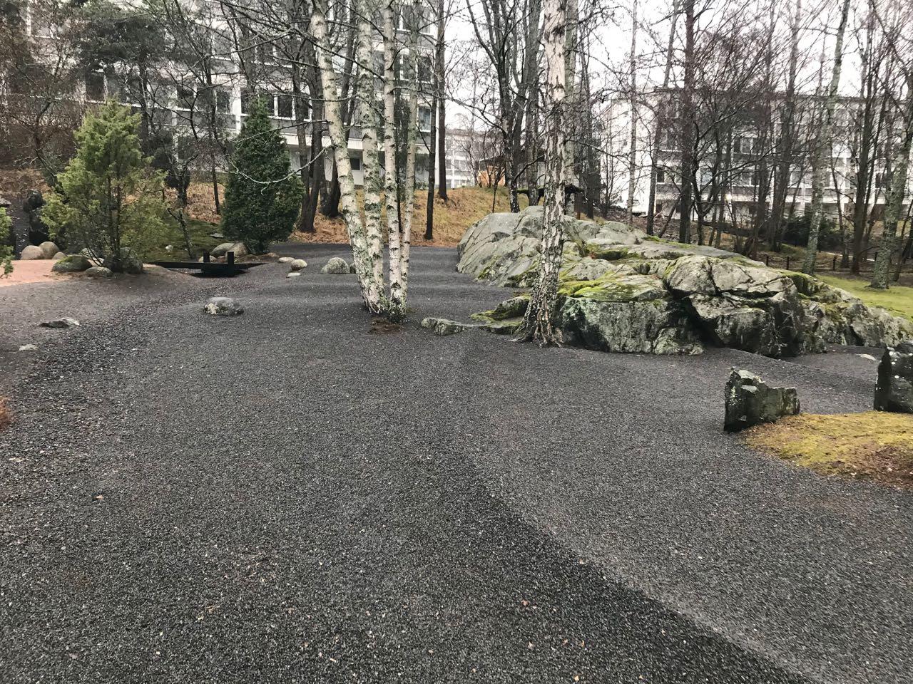 ヘルシンキの日本庭園